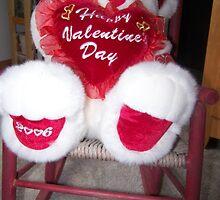 Valentine Teddy Bear by debbiedoda