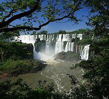 Iguaza Falls - Argentina by Miguel De Freitas