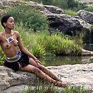 Beautiful Zulu Maiden by Peter Wickham