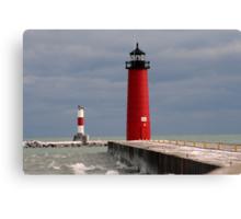 Pierhead Lighthouse Canvas Print