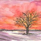 Red Winter Dreams by Caroline  Lembke