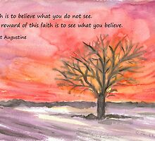 The Reward of Faith by Caroline  Lembke