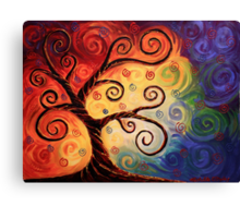 Twisted With Joy Canvas Print