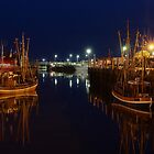 Neuharlingersiel harbor by derausdo