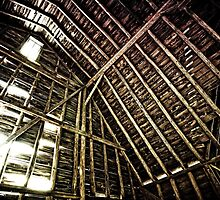 A Barn's Innards by Jesse J. McClear