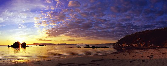 Yanakie Beach Sunrise by Travis Easton