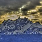 Pilatus panorama HDR by Frederic Chastagnol