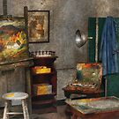 Painter - The Artists Studio by Mike  Savad