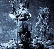 Dwarven Holy Anvil by Marc Garrido Clotet