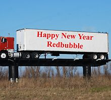 Happy New Year Redbubble by barnsis