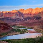 Colorado River Bend - Grand Canyon by Inge Johnsson