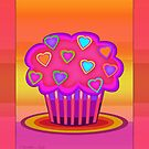 Party Cupcake by Mystikka