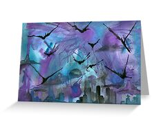 And Valkyries came...bent on destruction Greeting Card