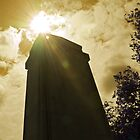World War Memorial Obelisk Silhouette by Enchanted Studios