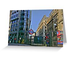 """Iconic London"" Greeting Card"