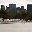 Winter City View by MPICS