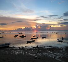 Balinese Sunset - Bali, Indo by Ginelle Colombo