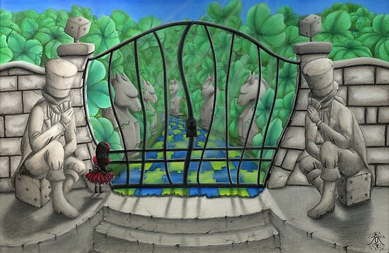 'The Game Master's Garden' by Jodee Taylah