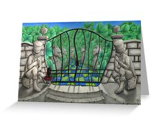 'The Game Master's Garden' Greeting Card