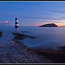 Dawn over Penmon point by Shaun Whiteman