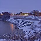 Winter comes to Brantford by RandiScott