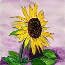 Catching a Sunflower by Anne Gitto