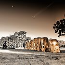 Airstream Ranch, On a Strange Day HDR by MKWhite