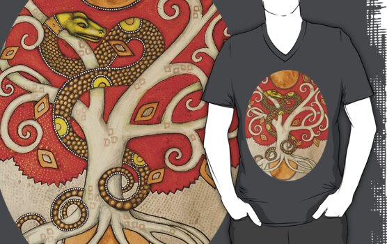 Serpent Tree Tee by Lynnette Shelley