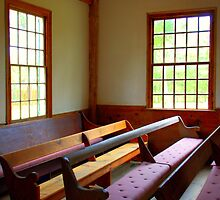 Third Haven Quaker meeting house by dragonphly
