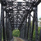 Railway Bridge -- Beaver County, PA by modernmana