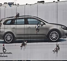 Golf Billboard by AniaR