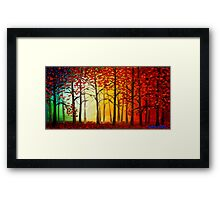 Listen to the Trees Framed Print