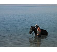 The horse whisperer Photographic Print