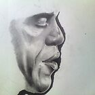 First Stage Of Obama  by Courtney Hill