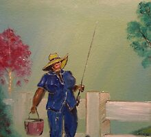 'Gone Fishing - The Joy of Retirement' by Barbara  Hayes