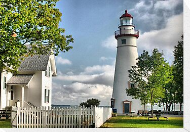 Marblehead Lighthouse by Monnie Ryan