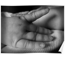 The hand of a child Poster