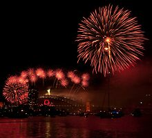 2009 Sydney New Year's Eve Fireworks by Jason Pang, FAPS FADPA