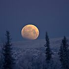 Blue Moon Over The Mat-Su  by Rick &amp; Deb Larson