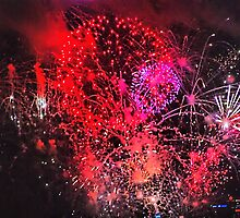 Firework abstract by andreisky