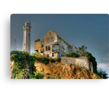 Alcatraz Lighthouse Canvas Print