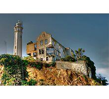Alcatraz Lighthouse Photographic Print