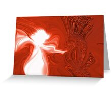 ANGELS LUV ALL CREATURES :) Greeting Card