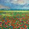 Poppy Field by Michael Creese