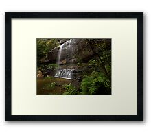 The Base - Wentworth Falls NSW Framed Print