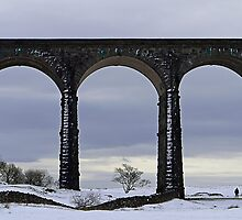 Viaduct. Ribblehead. England. by David Dutton