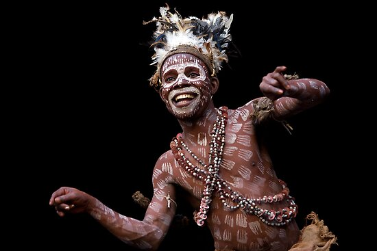 Cameroon Pygmy dance by Howard CB Sayer