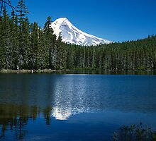 Mt Hood from Frog Lake by Chesil