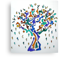 The Crying Tree Canvas Print
