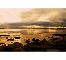Donabate Strand in December take 2 Photographic Print